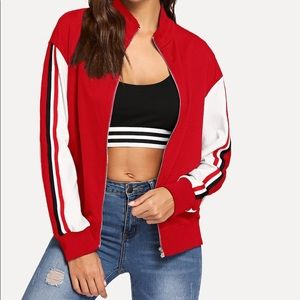 Jackets & Coats - 🎉BLOWOUT SALE💥🔥Sporty Lightweight Track Jacket